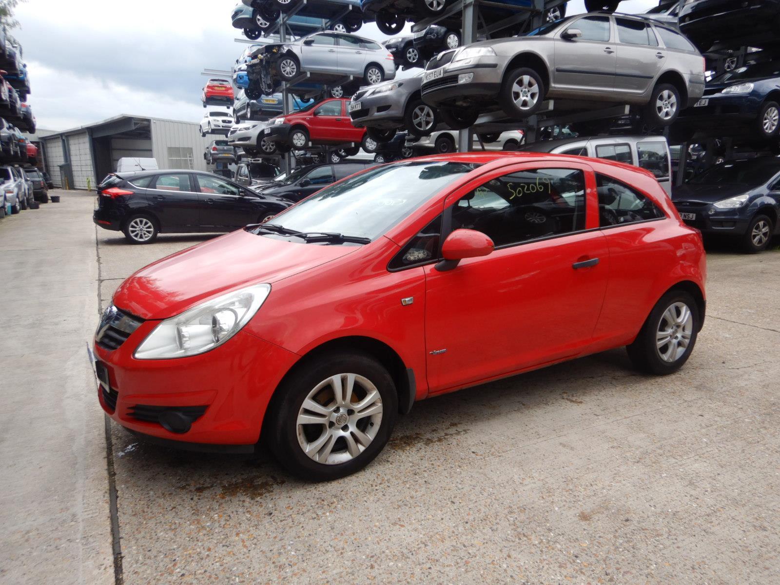 Vauxhall Corsa 2007 To 2011 Breeze 3 Door Hatchback