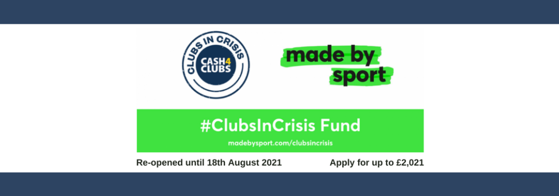 #ClubsInCrisis Fund Re-opened for Community Groups & Clubs