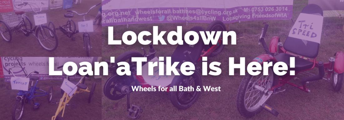 Wheels for All Bath & West Lockdown Loans
