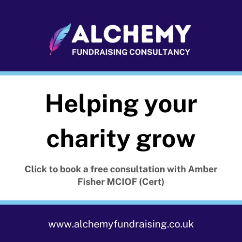 HELPING YOUR CHARITY GROW Alchemy Fundraising Consultancy enables charities to grow. In particular, the founder's passion is to support smaller organisations by developing their fundraising programmes and enabling them to fundraise themselves.