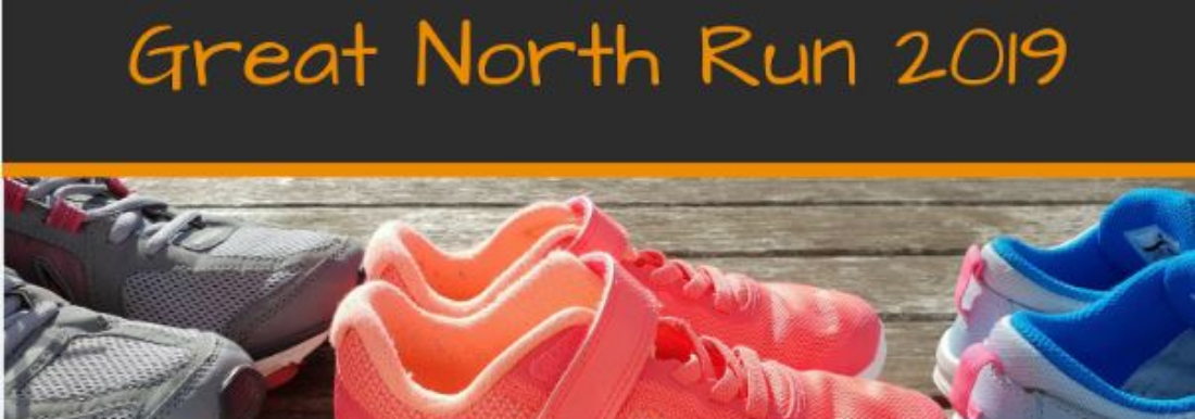 Join our team and run the Great North Run for Grace House!
