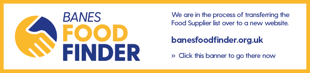 BANES Food Finder - New Website Banner - banesfoodfinder.org.uk