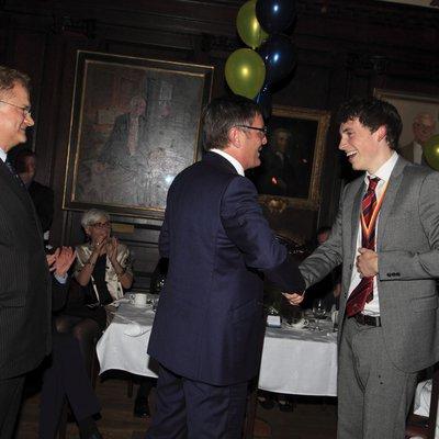 Eoin Finnegan wins Sportsman of the Year