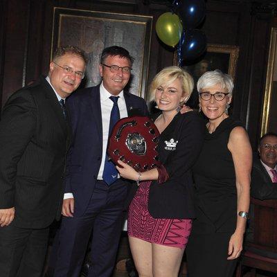 Jenny Smith wins Sportswoman of the Year