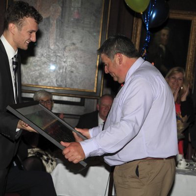 Ian Madden wins Captains Award: For Outstanding Service to College Sport
