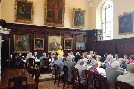 President's Lunch May 2017