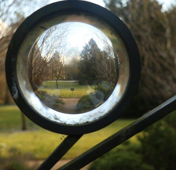 Garden gate - close-up