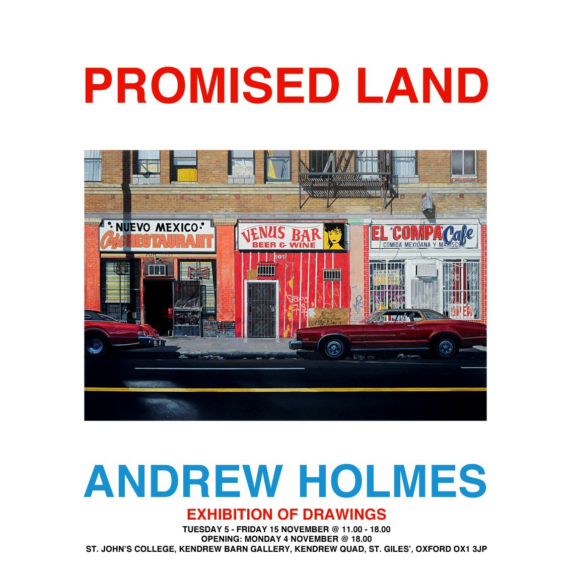 Andrew Holmes: Promised Land