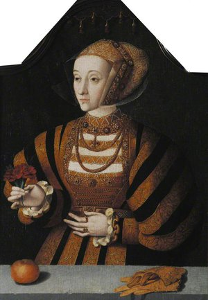 Anne of Cleves by Bartolomaeus Bruyn the Elder 1493-1555