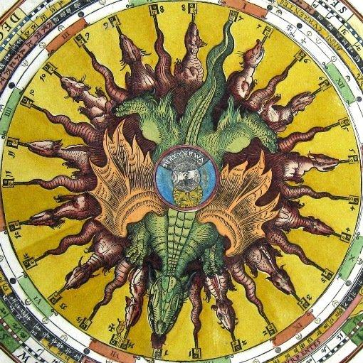 Apian's Astronomicum Caesareum volvelle