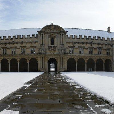 Canterbury Quad in snow