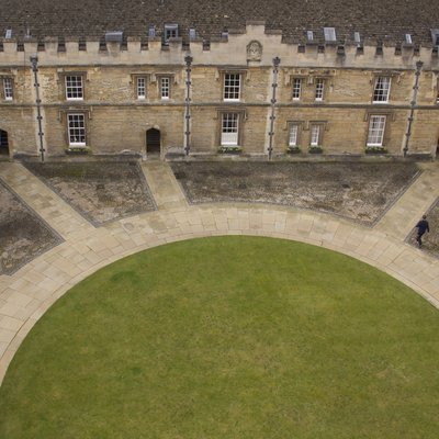 Front Quad from the air