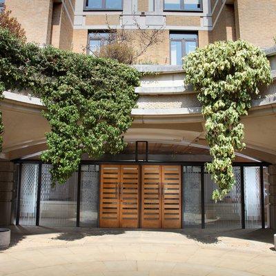 Garden Quad central courtyard
