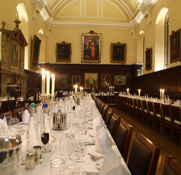 Hall conference dinner