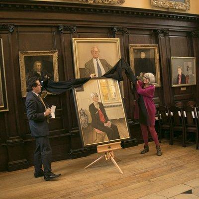 President's Portrait Unveiling