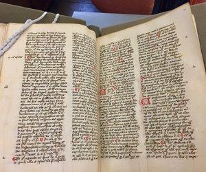 St John's College MS 53, Bartholomew of Pisa's alphabetical confessors' manual.