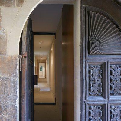 The entrance to the Otranto Passage in Canterbury Quad
