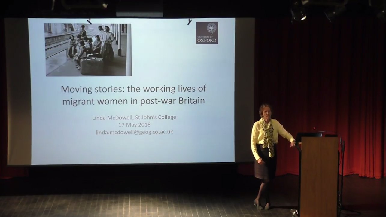 Prof Linda McDowell - Founder's Lecture 2018