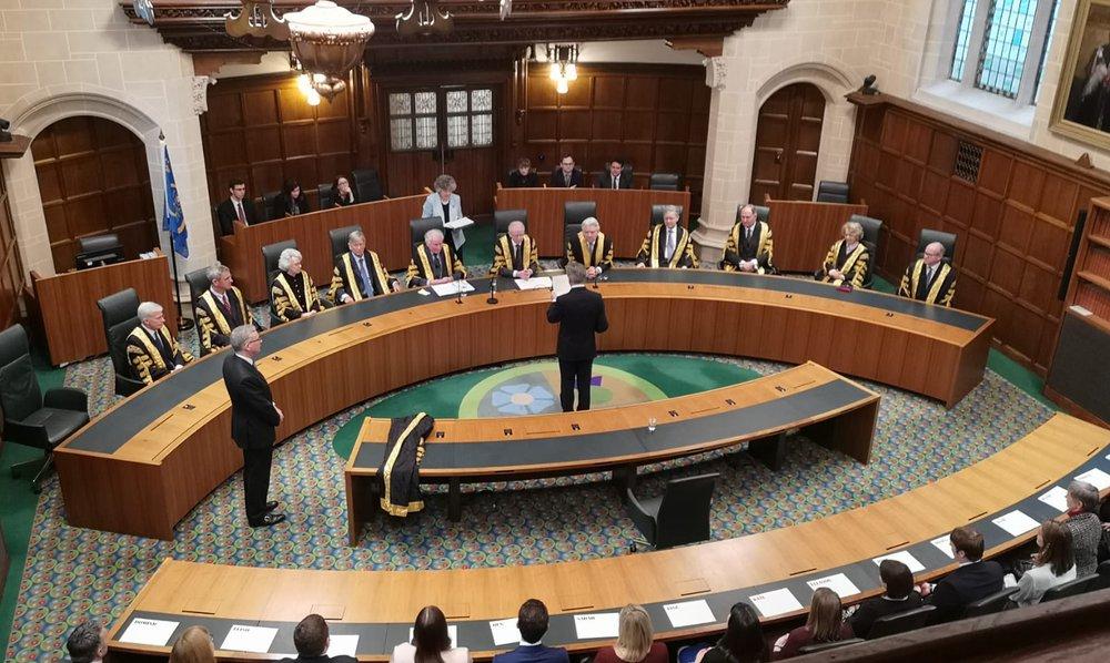 Lord Hamblen Supreme Court swearing in