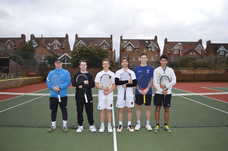 SJC Mixed Tennis Team 2019
