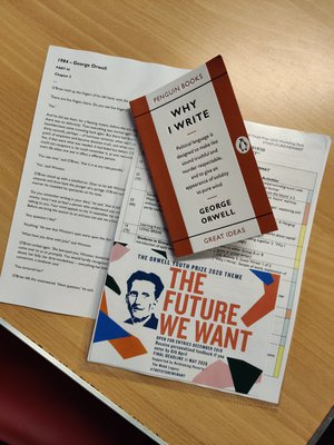 Orwell Youth Prize materials