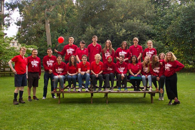 Student Ambassadors September 2016