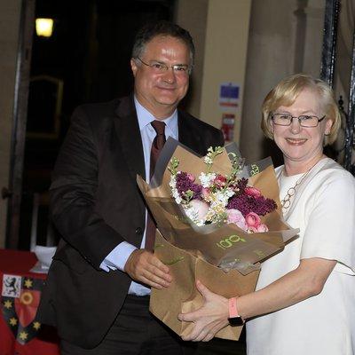Zoltan and Barbara Slater - Sports Dinner 2019 - Prizes-St Johns -186.JPG
