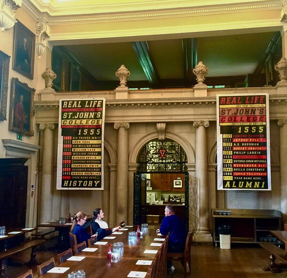 Ross Sinclair: Real Life Banners in the Hall