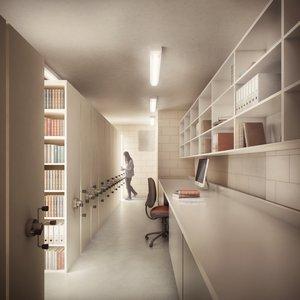Library & Study Centre basement