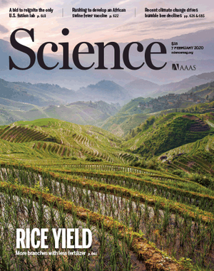 Science cover Nick Harberd