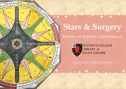 Stars and Surgery: Library Exhibition HT2020