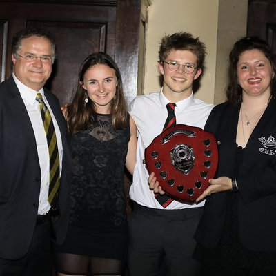 Sports Officer's Special Prize 2019: Tom  Johnson