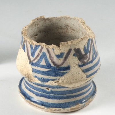 medicine pot found on the site of the new Library & Study Centre