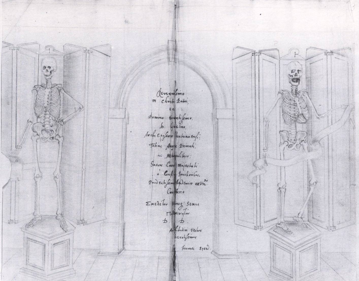 Skeletons in the Laudian Library