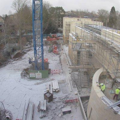 Study Centre construction Feb 18