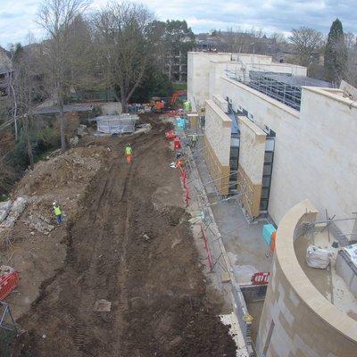 Study Centre construction March 18