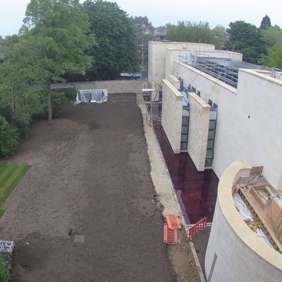 Study Centre construction May 18
