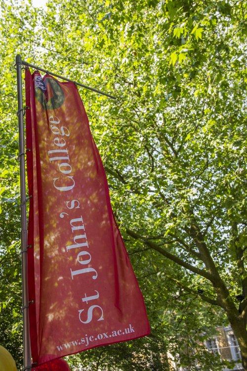 St John's banner