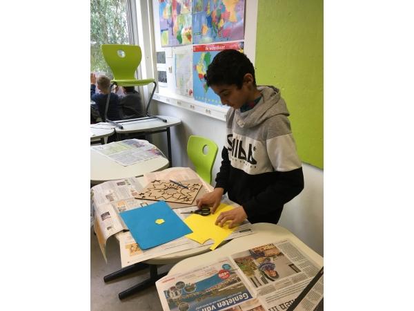 Sjablonen popart Roy Lichtenstein ('60) afbeelding 6