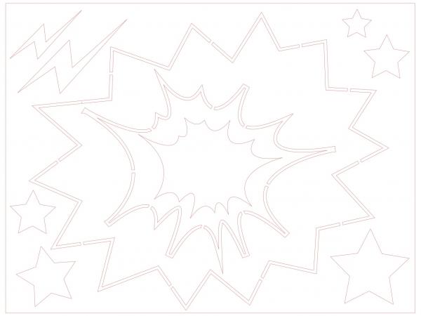 Sjablonen popart Roy Lichtenstein ('60) afbeelding 9