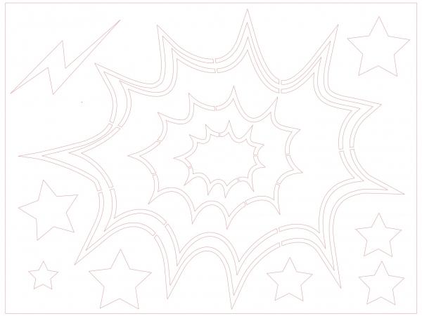 Sjablonen popart Roy Lichtenstein ('60) afbeelding 10