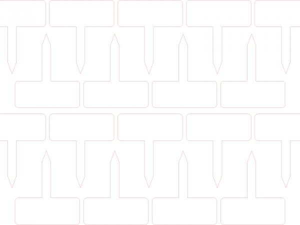 Lasercut tuin naamplaatjes_Basis