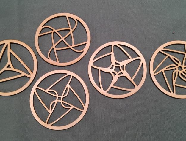geometrische onderzetter