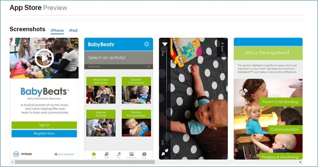 Baby Beats app