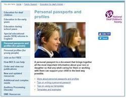 NDCS Personal passports
