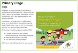 Primary Stage resource