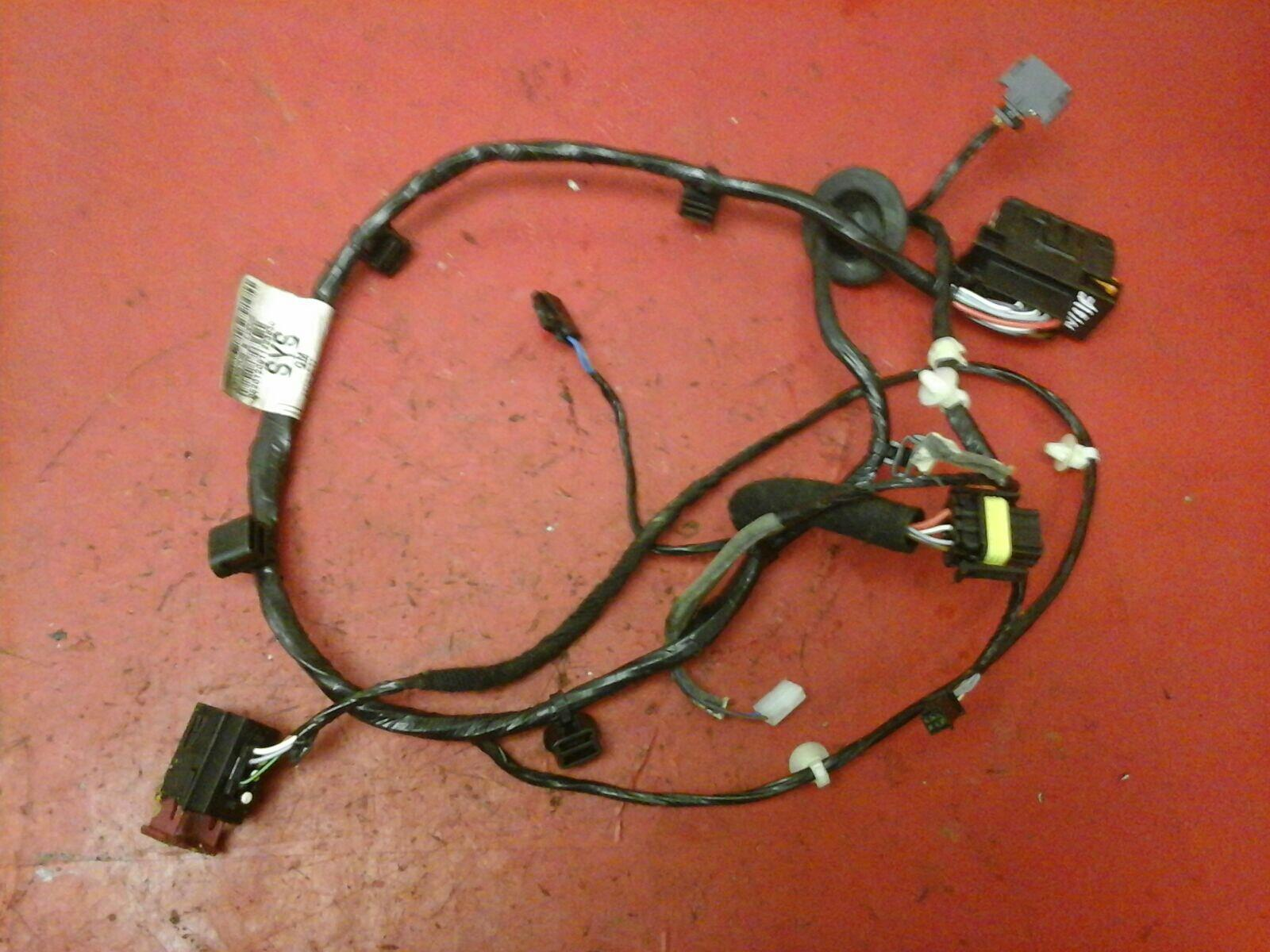 Vauxhall Zafira B Passenger Side N S Front Door Wiring Loom Harness Making A New 05 12