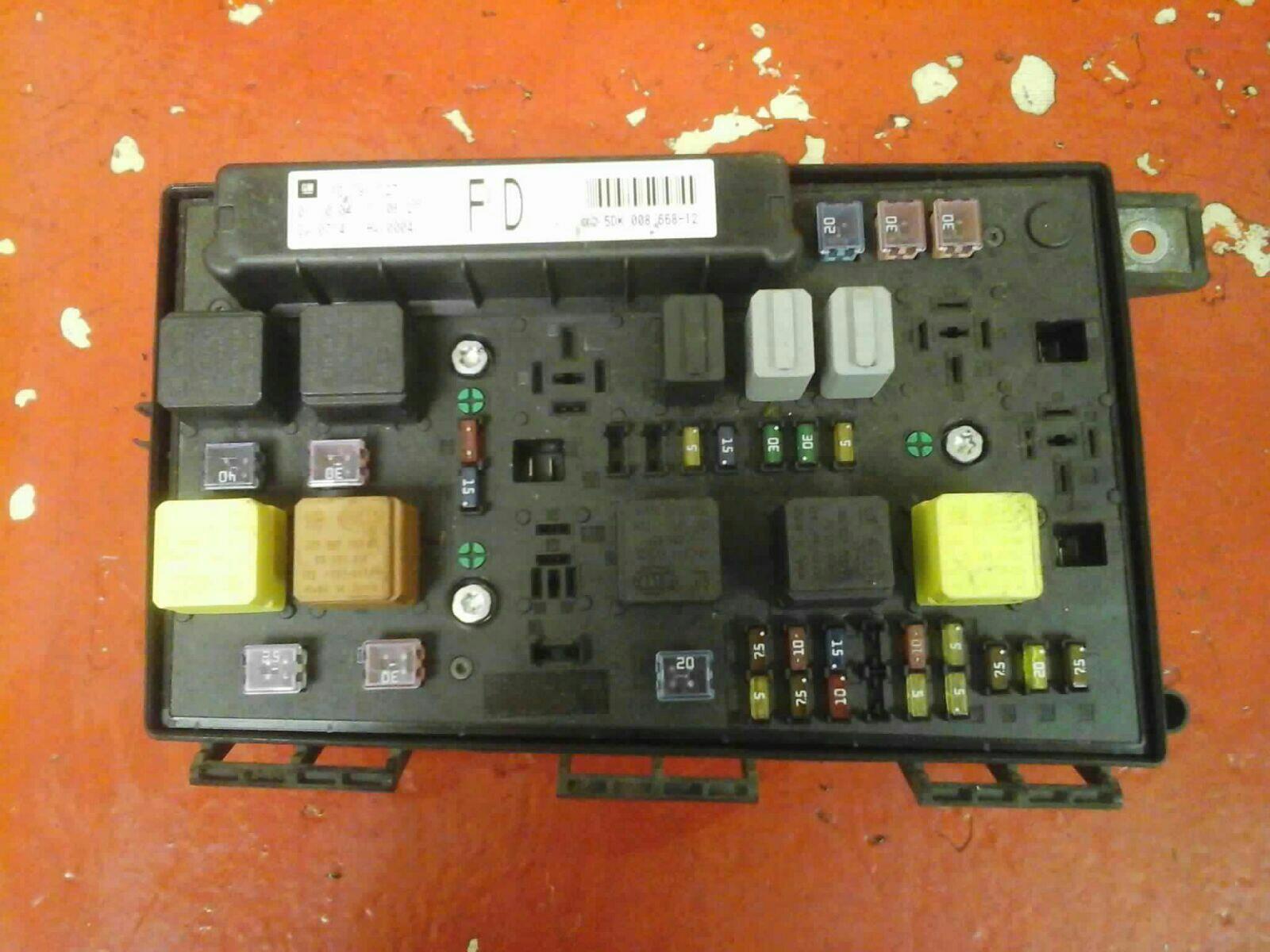 WRG-7045] Astra Club Fuse Box on