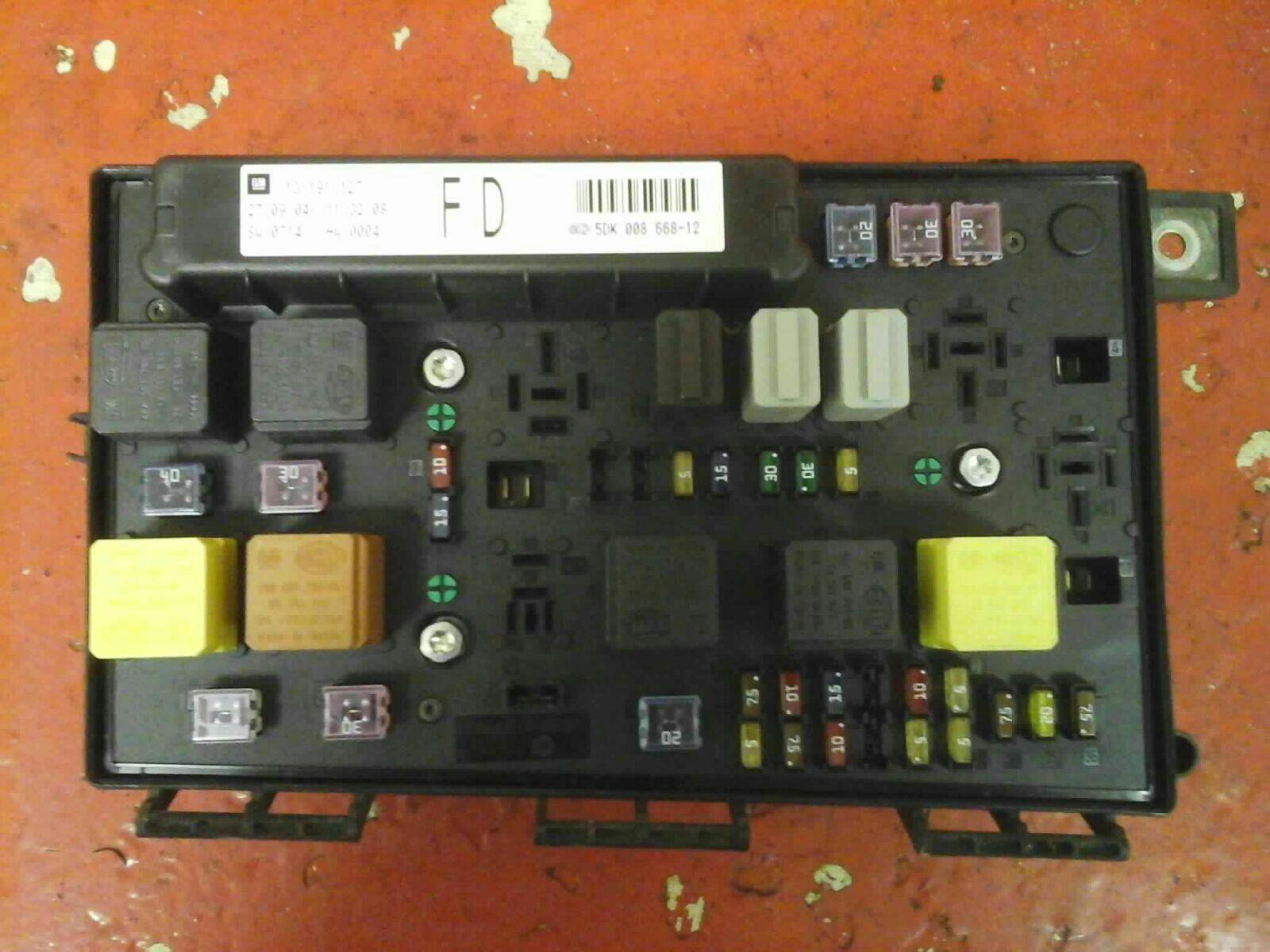 F40A083 53 Plate Astra Fuse Box | Wiring ResourcesWiring Resources