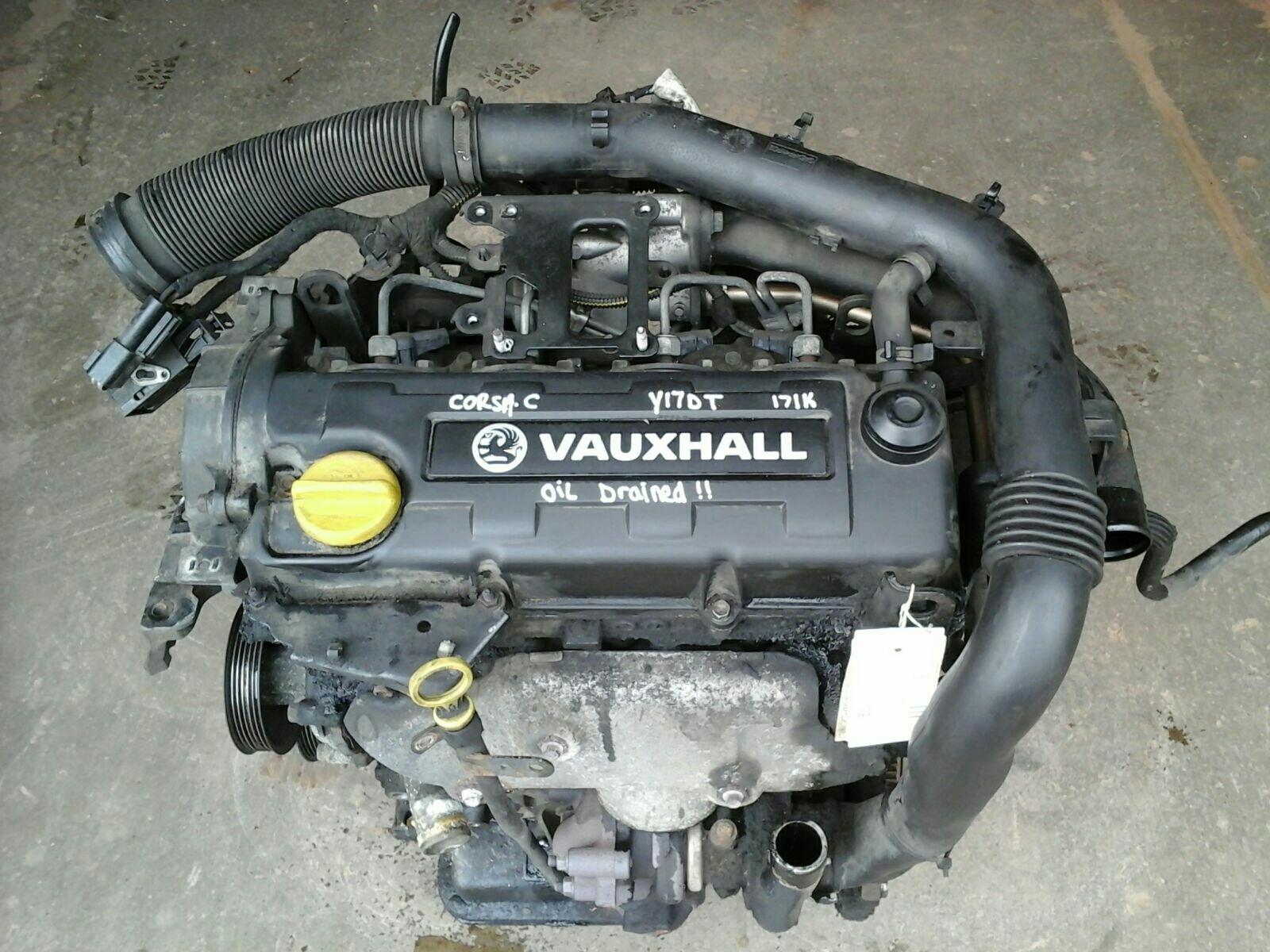 VAUXHALL ASTRA MK4 CORSA C + COMBO VAN 1.7 DTI DIESEL Y17DT ENGINE & TURBO  171K